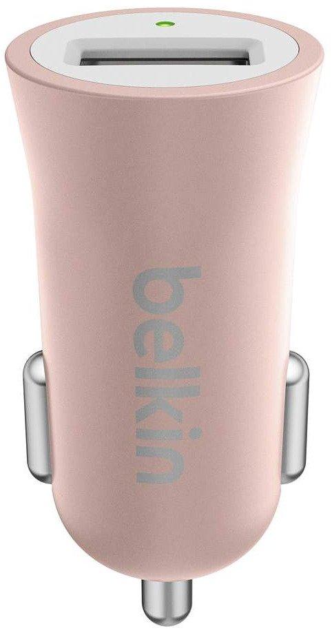 Автомобільний зарядний пристрій Belkin Mixit Premium 2.4A Rose Gold (F8M730BTC00) фото