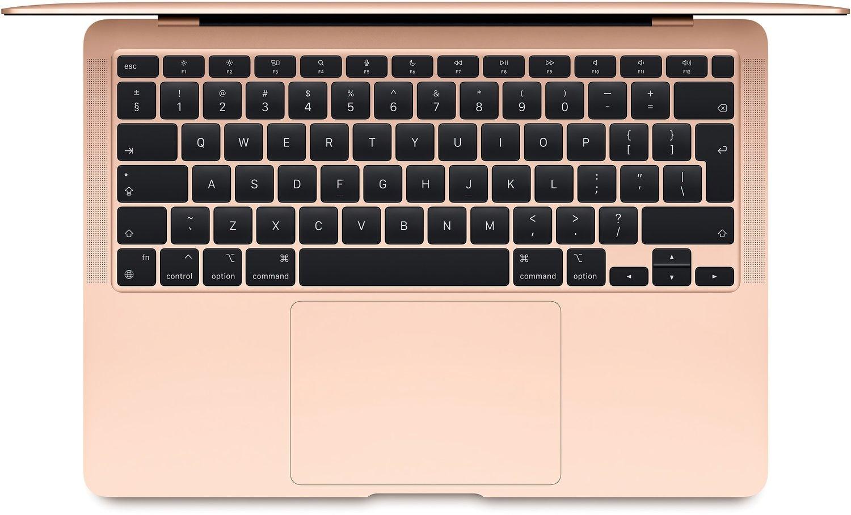 "Ноутбук APPLE MacBook Air 13""M1 512GB 2020 (MGNE3UA/A) Gold MGNE3 фото3"