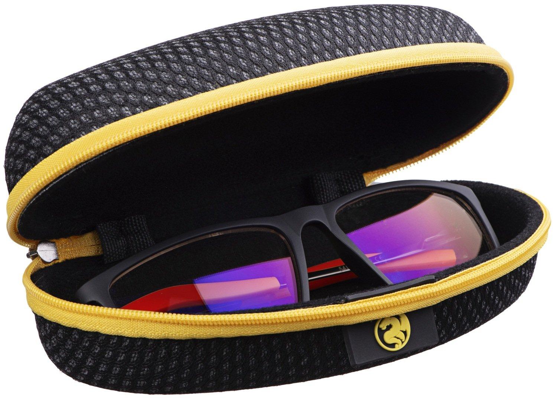 Защитные очки 2Е Gaming Anti-blue Glasses Black-Red (2E-GLS310BR) фото 6