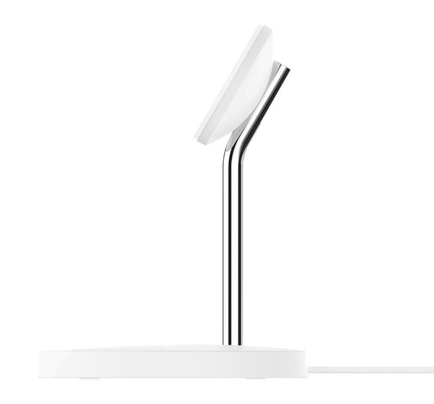 Бездротове ЗУ Belkin MagSafe 2-in-1 Wireless Charger White (WIZ010VFWH) фото