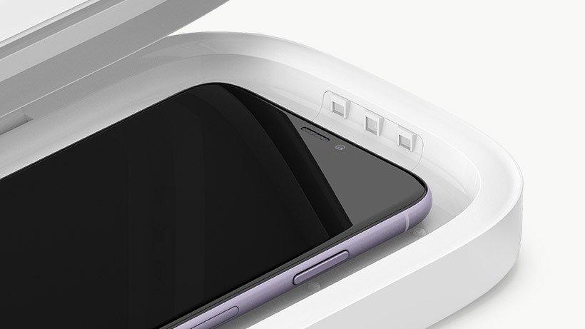 UV-стерилизатор и беспроводное зарядное устройство Belkin Wireless Charging Qi 10W White (WIZ011BTWH) фото 5