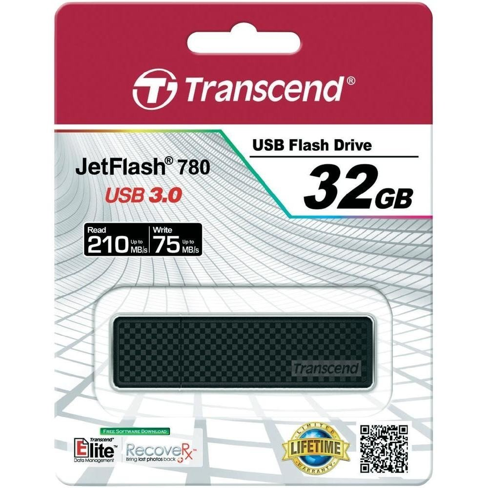 Накопичувач USB 3.0 TRANSCEND JetFlash 780 32GB (TS32GJF780) фото