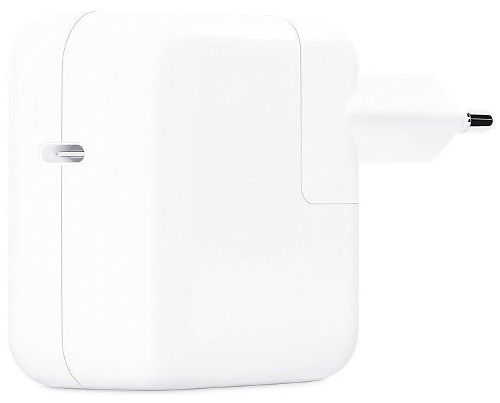 Зарядний пристрій 30W USB-C Power Adapter Model A2164 (MY1W2ZM/A)фото