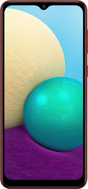 Смартфон Samsung Galaxy A02 (A022/32) Red фото 2