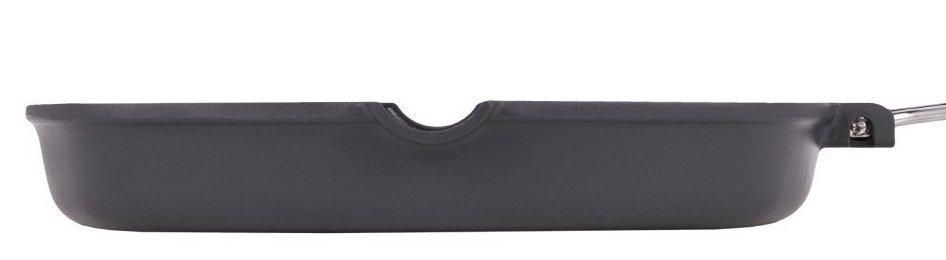 Сковорода гриль Ardesto Gemini алюминий, 34*24 см черный (AR1934GF) фото 4