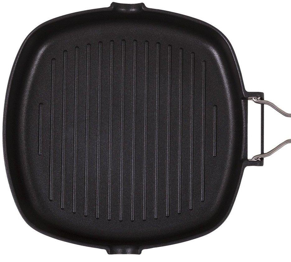Сковорода гриль Ardesto Gemini алюминий, 34*24 см черный (AR1934GF) фото 3