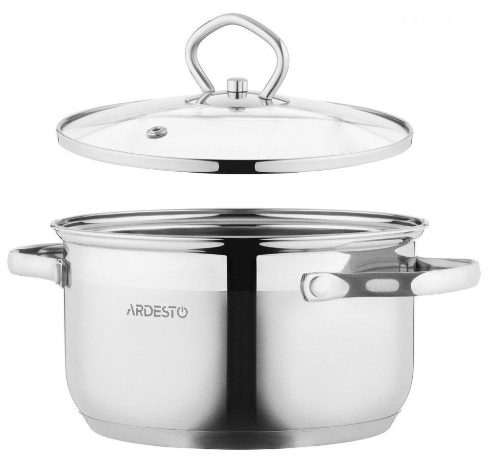 Набор посуды Ardesto Gemini, 4 предметов (AR1904GSS) фото