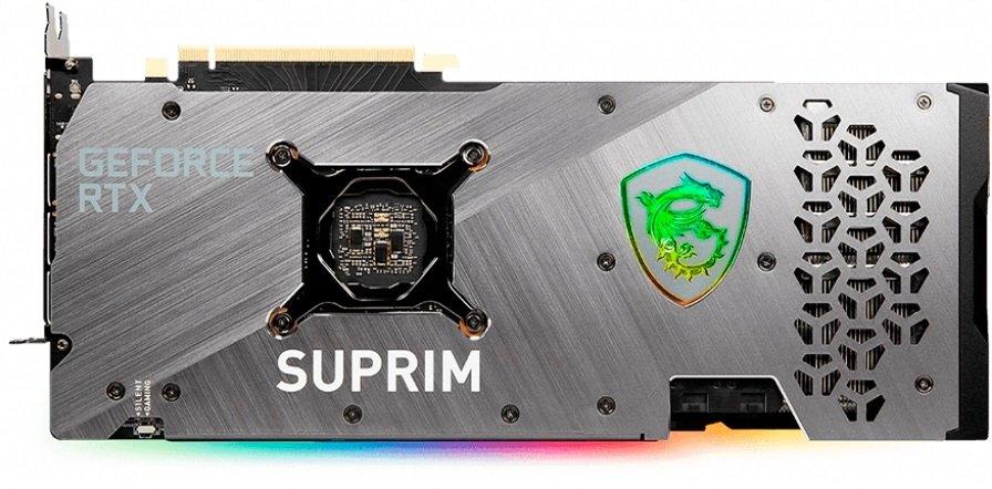 Вiдеокарта MSI GeForce RTX3070 8GB GDDR6 SUPRIM X (RTX_3070_SUPRIM_X_8G)фото4