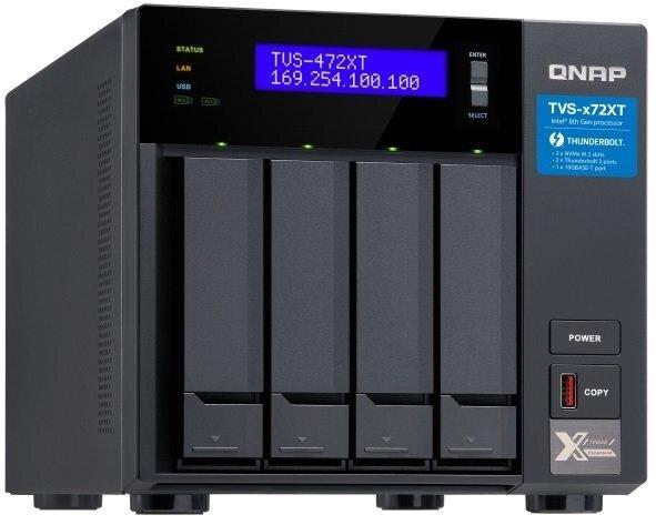 Мережеве сховище QNAP TVS-472XT-PT-4G фото