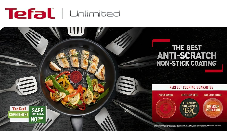 Сковорода Tefal Unlimited 26 см (G2550572) фото