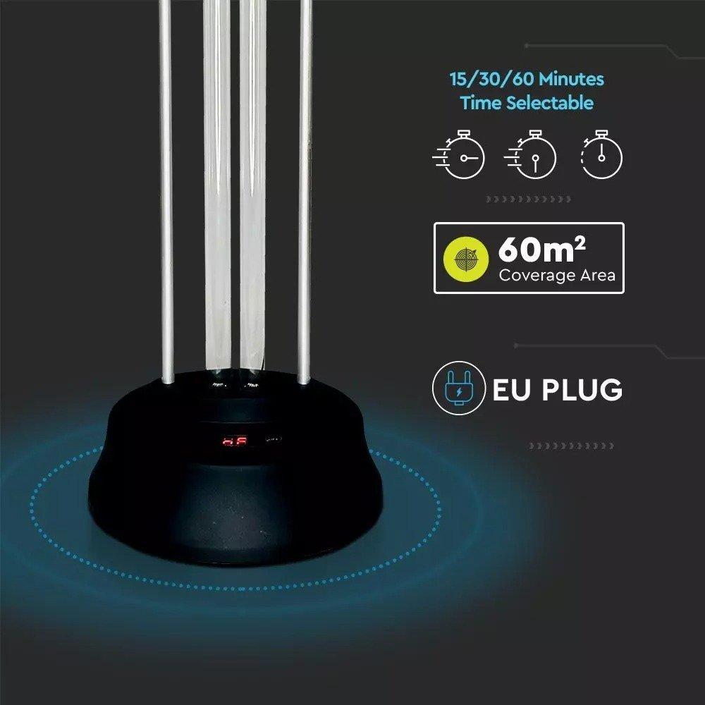 Кварцевая бактерицидная лампа V-TAC VT-3239 UVC 38W (11208) фото
