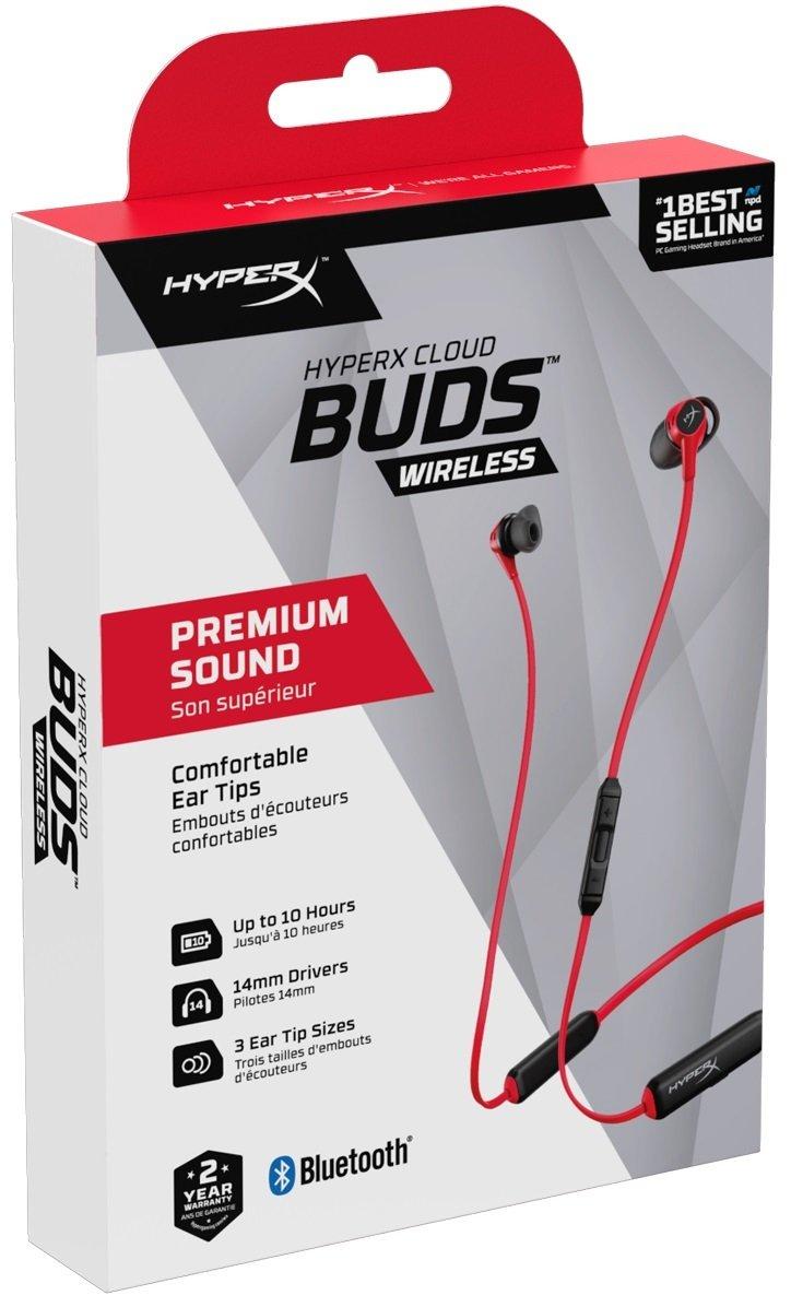 Игровая гарнитура HyperX Cloud Buds (HEBBXX-MC-RD/G) фото