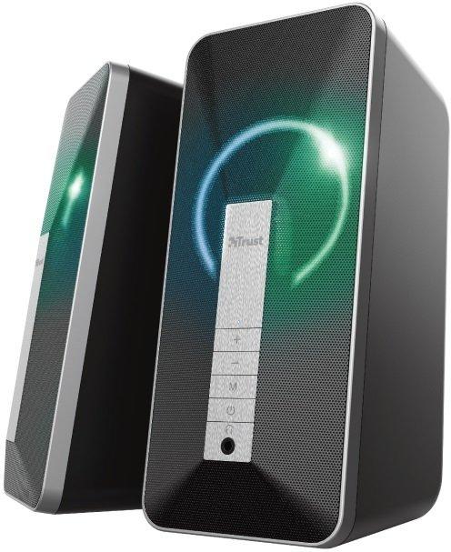 Акустична система Trust 2.0 Arva Illuminated Bluetooth Black (23820_TRUST) фото4