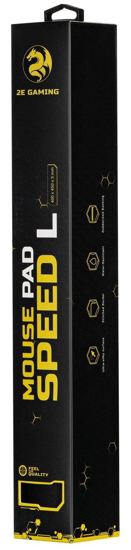Игровая поверхность 2E Gaming Mouse Pad Speed L Black фото 5
