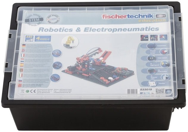 Конструктор fisсhertechnik STEM Робототехника и Електропневматика (без TXT контроллера и аккумулятора) фото 6