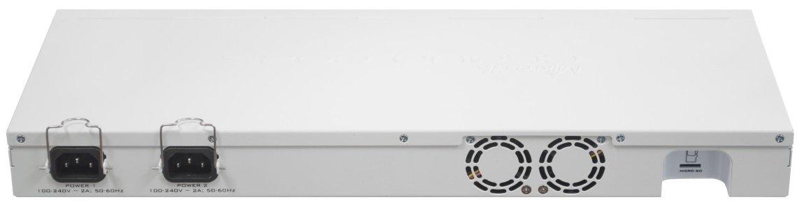 Маршрутизатор MikroTik Cloud Core Router 1009-7G-1C-1S + 7xGE, 1xGE/SFP, 1xSFP +, OS L6, LCD, rack (CCR1009-7G-1C-1S +) фото2