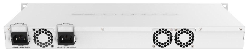 Маршрутизатор MikroTik Cloud Core Router 1036-8G-2S + EM 8xGE, 2xSFP +, RouterOS L6, LCD panel, rack (CCR1036-8G-2S + EM) (CCфото2