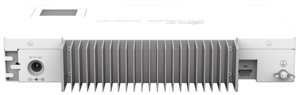 Маршрутизатор MikroTik Cloud Core Router CCR1009-7G-1C-1S + PC 7xGE, 1xGE/SFP, 1xSFP +, OS L6, pas, LCD (CCR1009-7G-1C-1S + P фото2