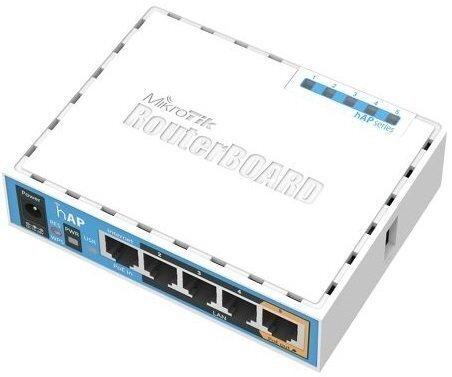 Маршрутизатор MikroTik hAP (RB951Ui-2nD) (RB951UI-2ND) фото
