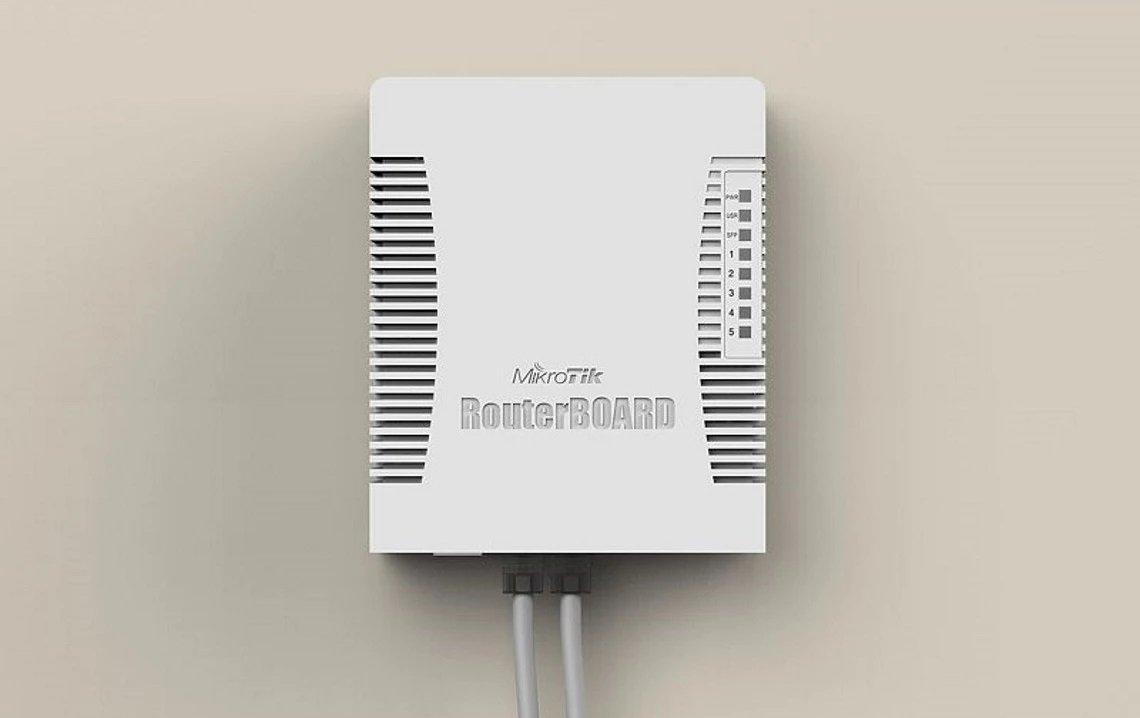 Маршрутизатор MikroTik hEX PoE 5xGE/PoE, 1xSFP, 1xUSB, RouterOS L4 (RB960PGS) фото4
