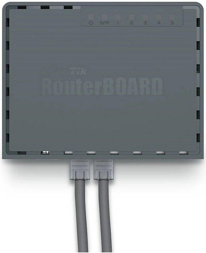Маршрутизатор MikroTik hEX S 5xGE (1xPoE), 1xSFP, 1xUSB, RouterOS L4 (RB760IGS) фото4