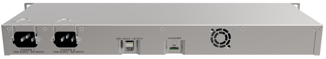 Маршрутизатор MikroTik RouterBOARD 1100AHx4 Dude Edition 13xGE, 60GBxM.2, RouterOS L6, rack (RB1100Dx4) (RB1100DX4) фото