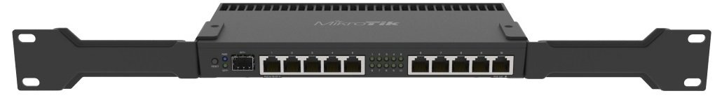 Маршрутизатор MikroTik RouterBOARD 4011iGS+ 10xGE, 1xSFP+, RouterOS L5 (RB4011IGS+RM) фото