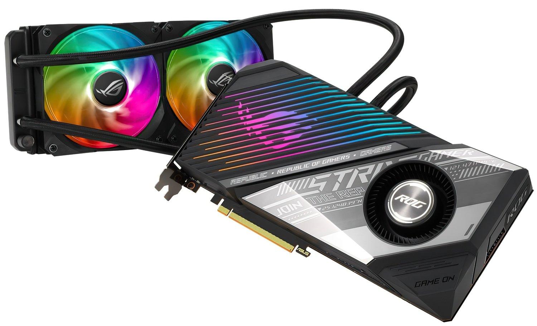 Відеокарта ASUS Radeon RX 6800 XT 16GB DDR6 (STRIX-LC-RX6800XT-O16G-G)фото7