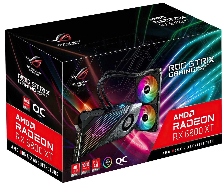 Відеокарта ASUS Radeon RX 6800 XT 16GB DDR6 (STRIX-LC-RX6800XT-O16G-G)фото12