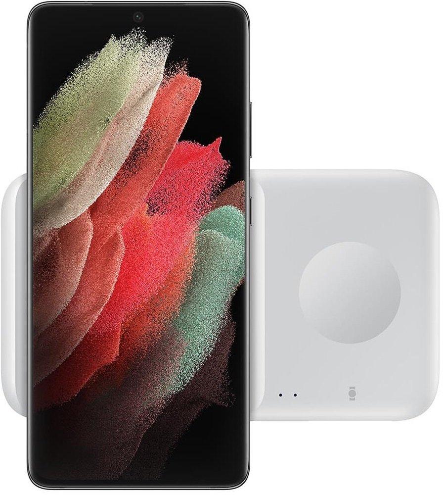 Беспроводное зарядное устройство Samsung Wireless Charger Duo White (EP-P4300TWRGRU) фото 7