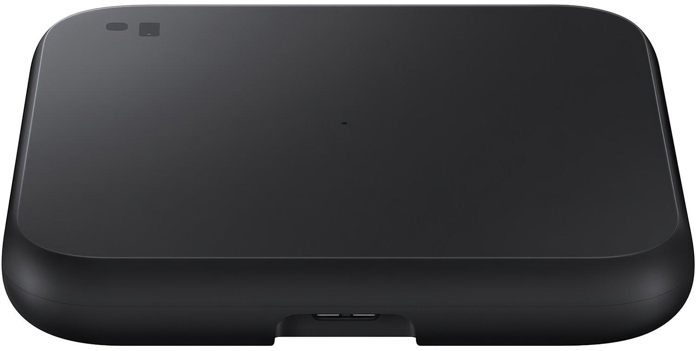 Бездротове зарядний пристрій Samsung Wireless Charger Pad Black (EP-P1300BBRGRU)фото4