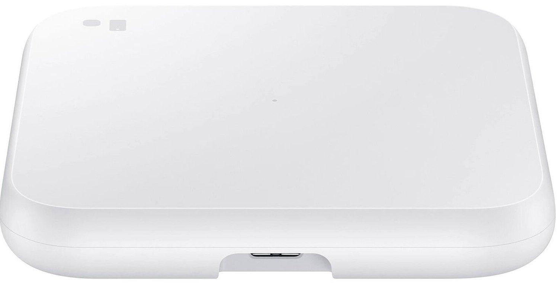 Бездротове зарядний пристрій Samsung Wireless Charger Pad White (EP-P1300BWRGRU)фото4