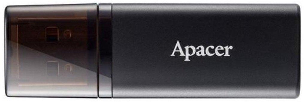 Накопичувач APACER 64GB USB 3.1 AH25B Black (AP64GAH25BB-1)фото2