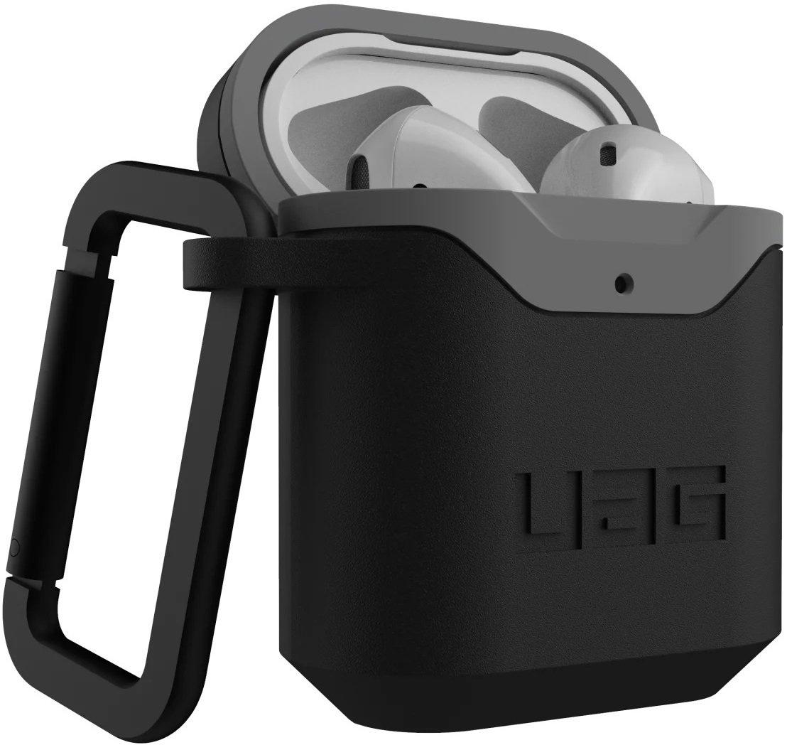 Чехол UAG для Airpods Standard Issue Hard Black/Grey (10242F114030) фото 3