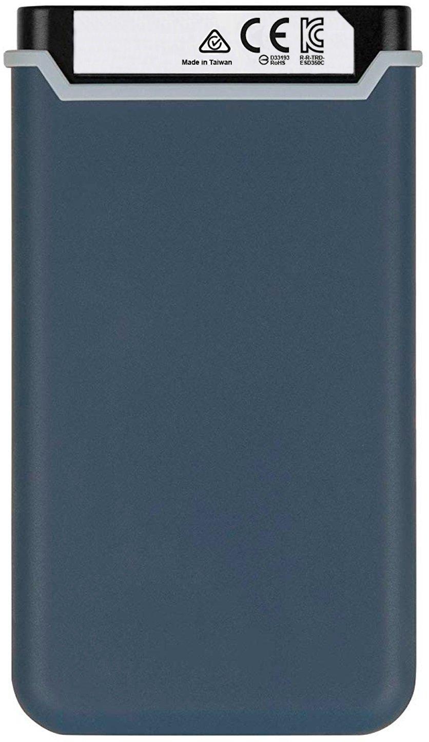 SSD накопитель TRANSCEND Type-C ESD370C 250GB Navy Blue (TS250GESD370C) фото
