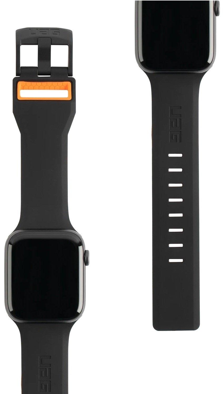 Ремешок UAG для Apple Watch 44/42 Civilian Black/Orange фото