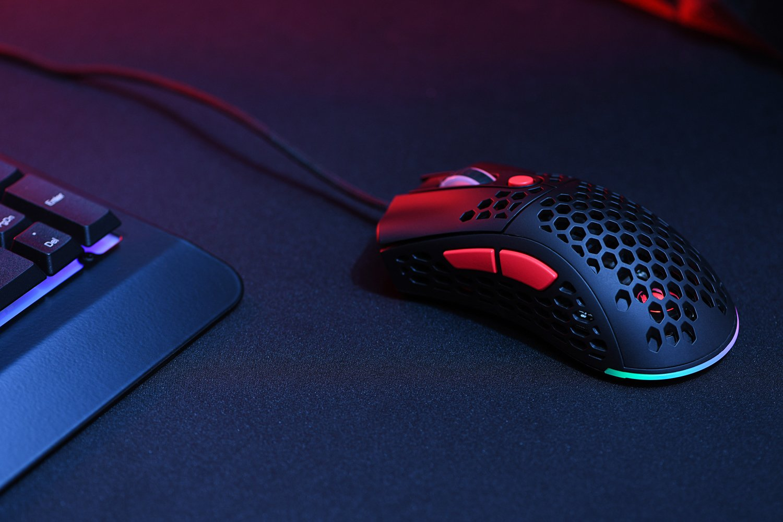Ігрова миша 2E GAMING HyperSpeed Lite RGB Black (2E-MGHSL-BK)фото