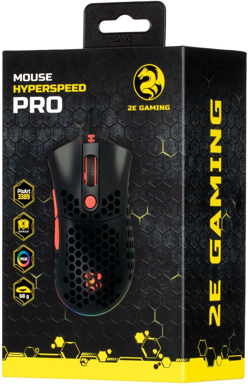 Ігрова миша 2E GAMING HyperSpeed Pro RGB Black (2E-MGHSPR-BK)фото