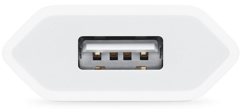 Мережевий зарядний пристрій Apple 5W USB Power Adapter Model A2118 (MGN13ZM/A)фото3