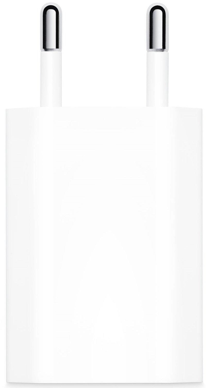 Мережевий зарядний пристрій Apple 5W USB Power Adapter Model A2118 (MGN13ZM/A)фото2