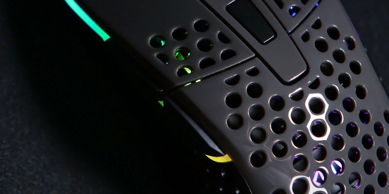 Ігрова мишка Xtrfy M4 RGB USB GLOSSY GRAY (XG-M4-RGB-GLOSSY)фото