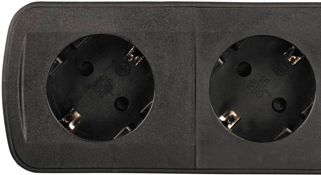 Сетевой удлинитель НАМА TIDY-Line 00137364 4XSchuko 3G*1.5мм 1.5м Black фото 3