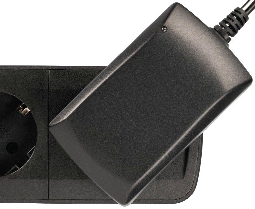 Сетевой удлинитель НАМА TIDY-Line 00137364 4XSchuko 3G*1.5мм 1.5м Black фото 9