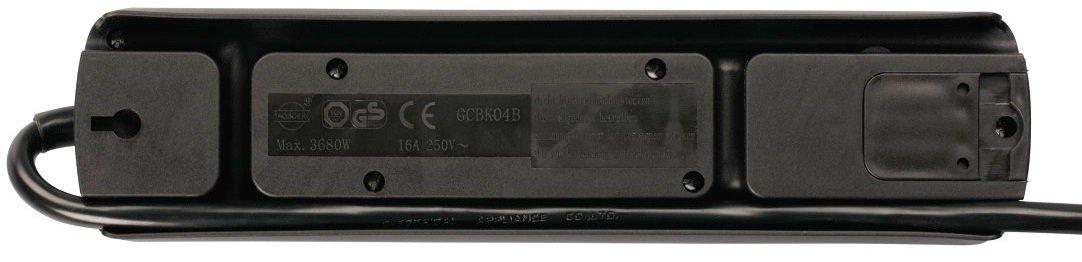 Сетевой удлинитель НАМА TIDY-Line 00137364 4XSchuko 3G*1.5мм 1.5м Black фото 5