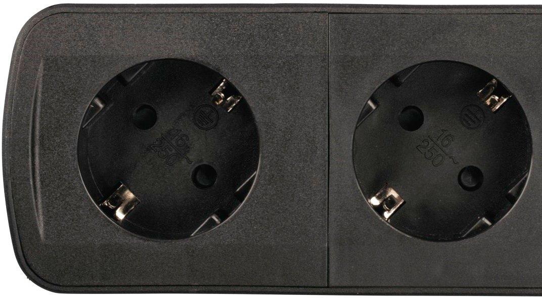 Сетевой удлинитель НАМА TIDY-Line 6XSchuko 3G*1.5мм 1.5м Black фото
