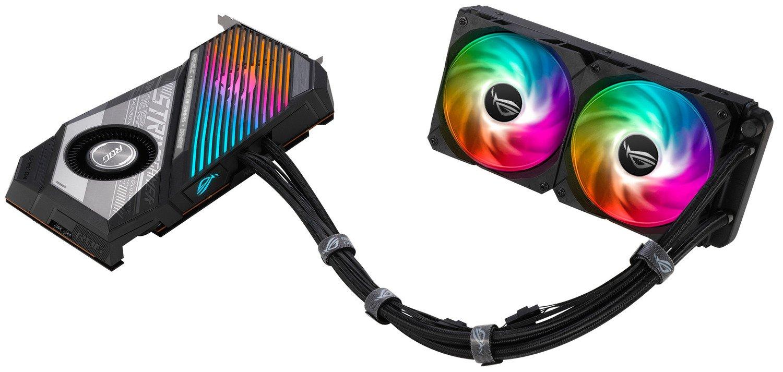 Відеокарта ASUS Radeon RX 6900 XT 16GB DDR6 STRIX OC LC (STRIX-LC-RX6900XT-O16G-G)фото10