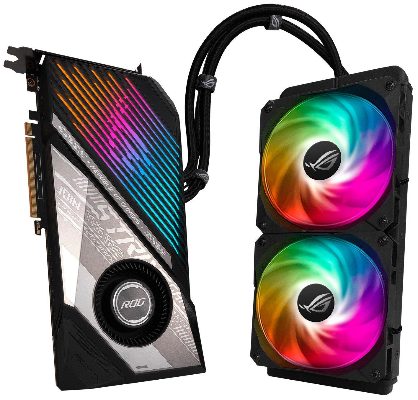 Відеокарта ASUS Radeon RX 6900 XT 16GB DDR6 STRIX OC LC (STRIX-LC-RX6900XT-O16G-G)фото12