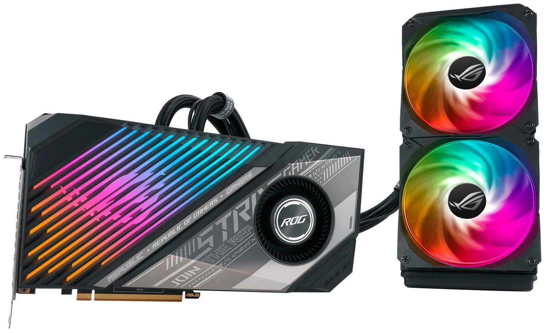 Відеокарта ASUS Radeon RX 6900 XT 16GB DDR6 STRIX OC LC (STRIX-LC-RX6900XT-O16G-G)фото9