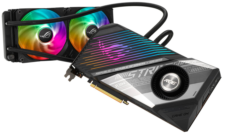Відеокарта ASUS Radeon RX 6900 XT 16GB DDR6 STRIX OC LC (STRIX-LC-RX6900XT-O16G-G)фото4