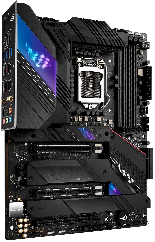 Материнcька плата ASUS STRIX_Z590-E_GAMING_WIFI s1200 Z590 4xDDR4 M.2 DP-HDMI ATXфото